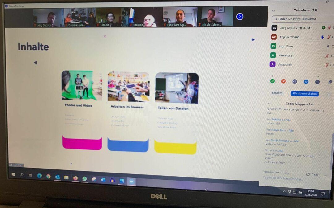 Lehrer*innen werden iPad-fit