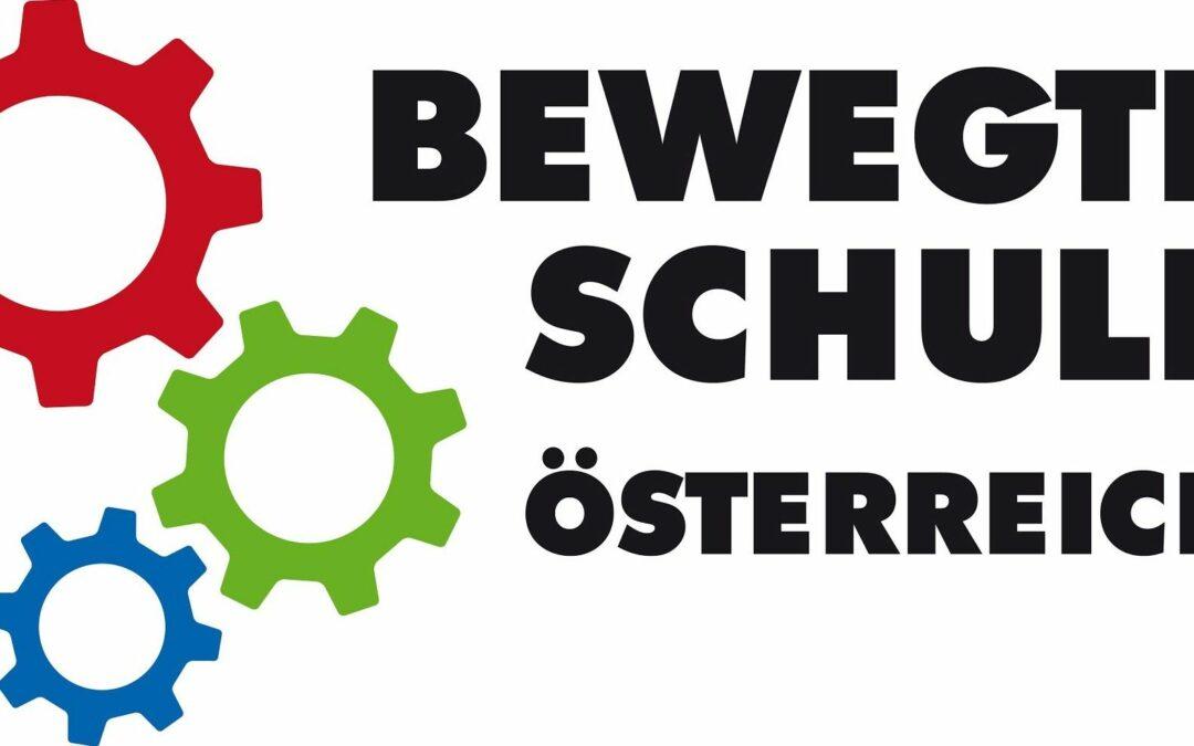 Gütesiegel Bewegte Schule Österreich