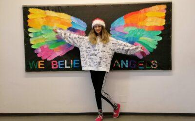 """Ein etwas anderes Weihnachtsprojekt – """"We believe in angels!"""""""