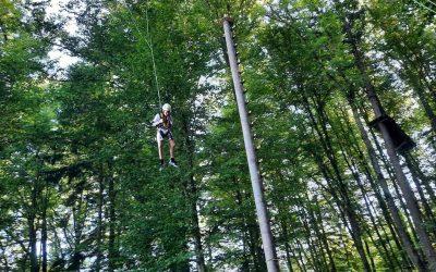 Teambuilding im Kletterpark